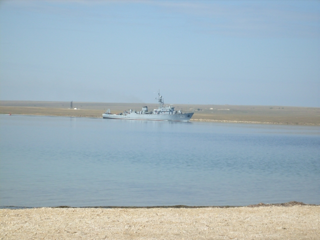 Украинские корабли в Крыму сняли на видео
