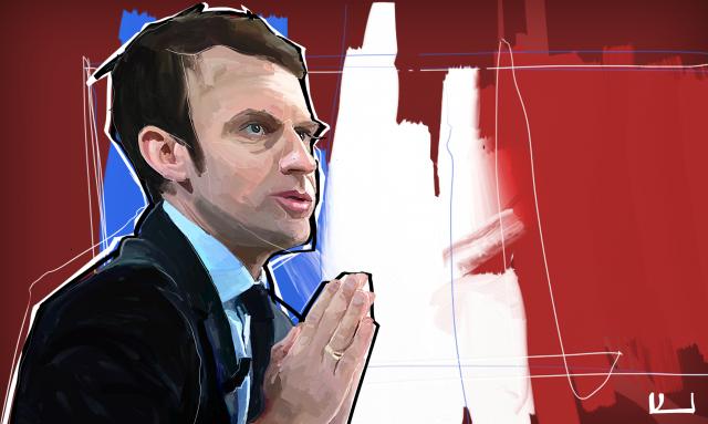 Президент Франции в юности написал эротический роман