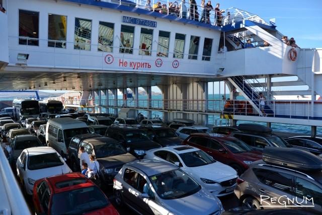 Керченская переправа закрыта второй день подряд