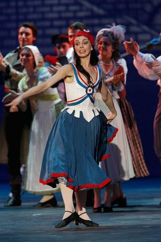 Наталья Осипова на сцене. 2011