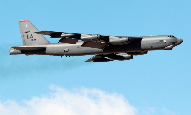 Пентагон разместит на Гуаме шесть ракетоносцев B-52H