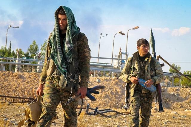 Курды. Сирия