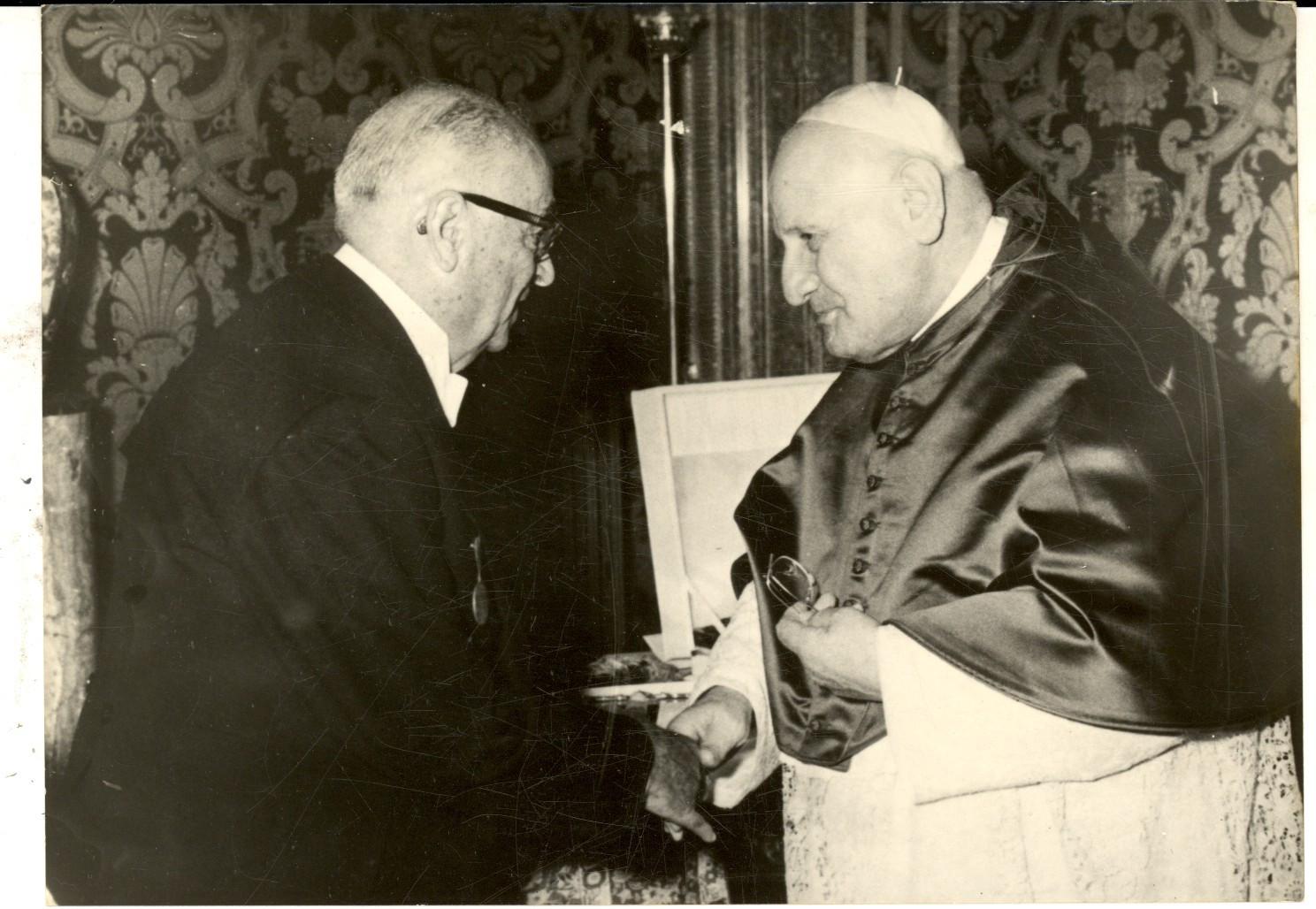 Президент Турции Баяр и папа Иоанн XXIII