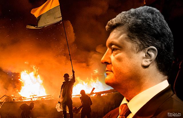 Пётр Порошенко. Майдан. Фото - Иван Шилов © ИА REGNUM
