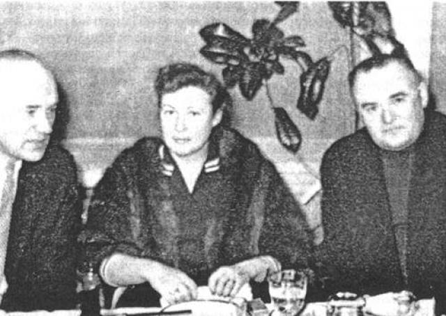 Борис Раушенбах и Сергей Королев