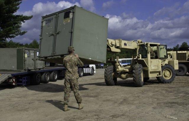 Военные учения молдавских войск
