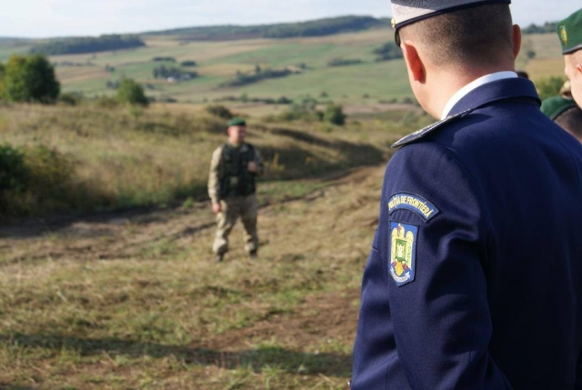 Пограничники Украины и Молдавии