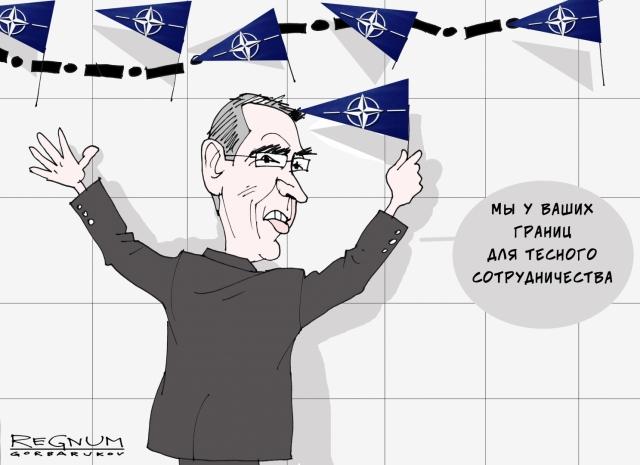 Генсек НАТО проведет переговоры о членстве Македонии в альянсе