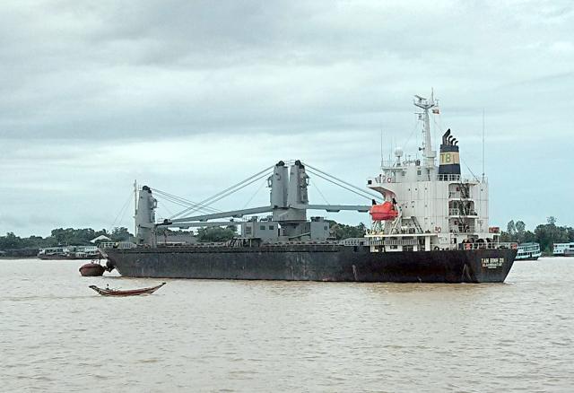 Китайское исследовательское судно прибыло в Мьянму для изучения климата