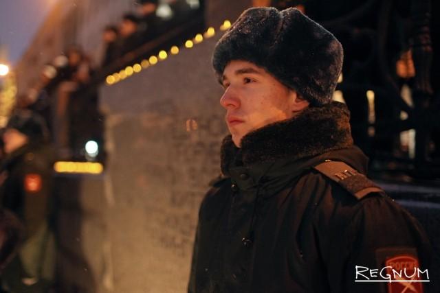 Церемония возложения цветов, посвященная Дню прорыва блокады Ленинграда