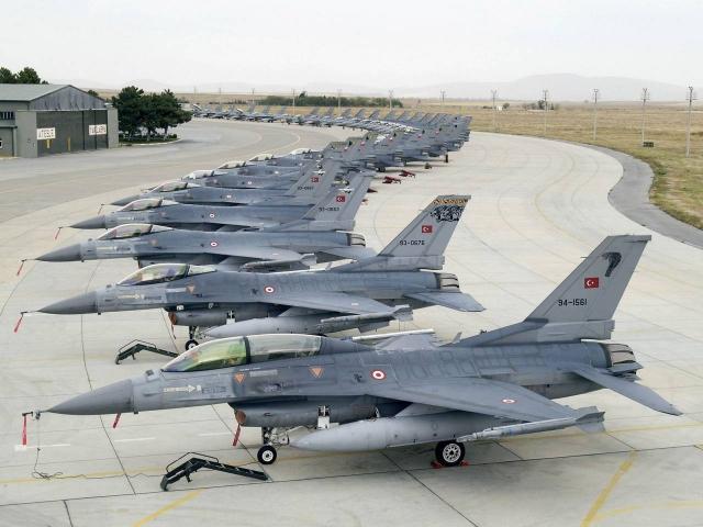 ВВС Турции нанесли удар по аэродрому «Минниг» в Сирии