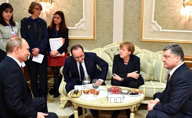 Песков о контактах Путина и Порошенко: «Это обычная практика»