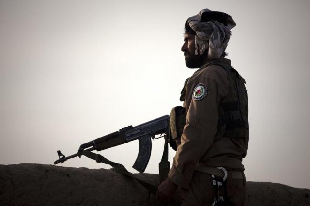 Солдат армии Афганистана