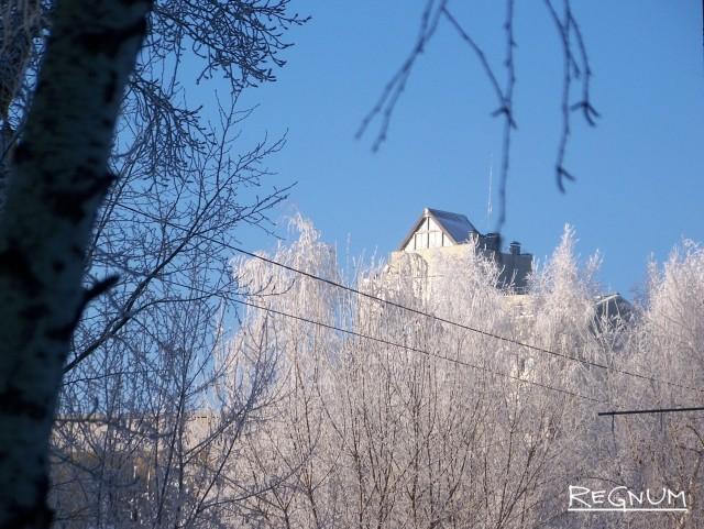Барнаул. Морозная сказка