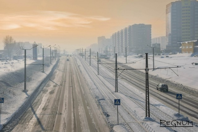 «Замороженный» Барнаул