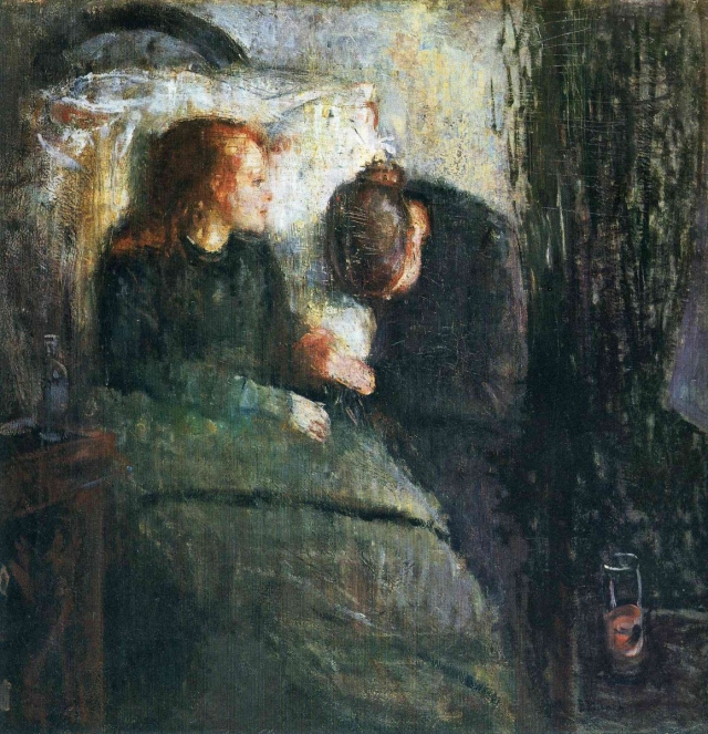Эдвард Мунк. Больной ребенок. 1885 — 1886
