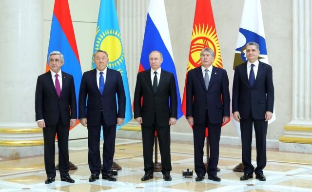 Главы государств – членов Евразийского экономического союза