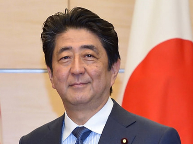 Премьер-министр Японии Синдзо Абэ