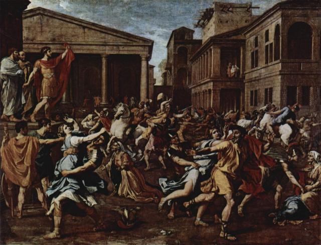 Никола Пуссен. Разрушение Титом храма в Иерусалиме