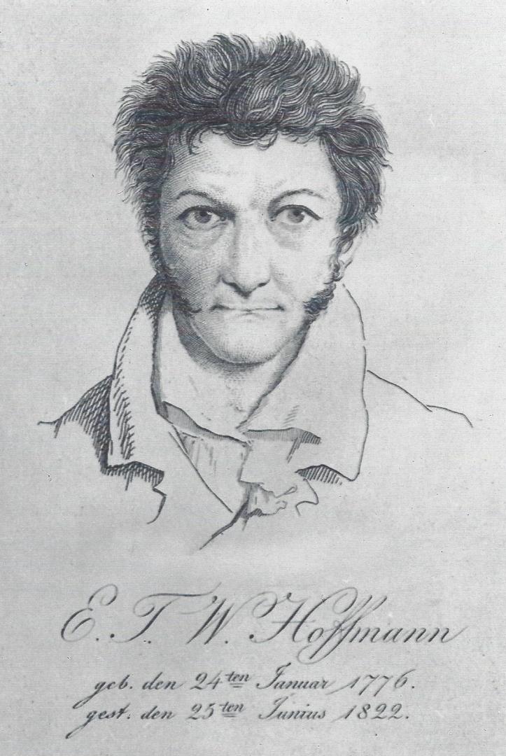 Эрнст Теодор  Амадей Гофман (автопортрет)