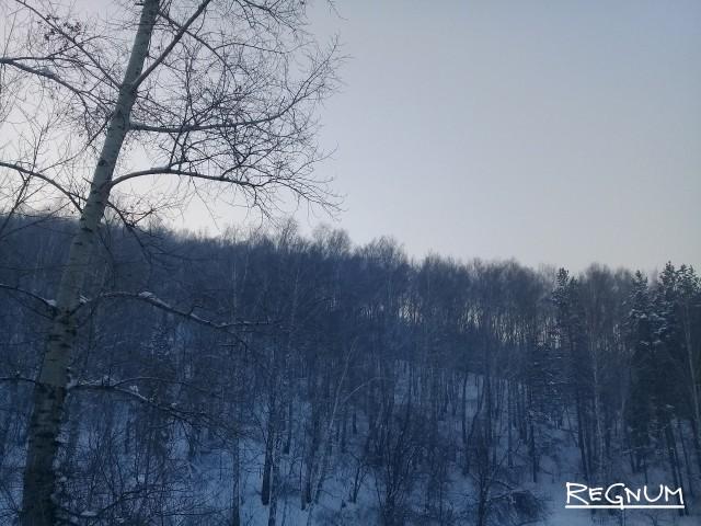 Сибирь сковали сильнейшие морозы