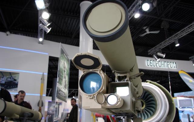 Армения получила на вооружение российские ПТРК «Корнет-Э»
