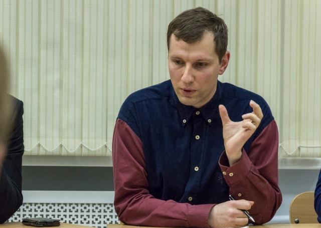 Выступление Антона Исакова