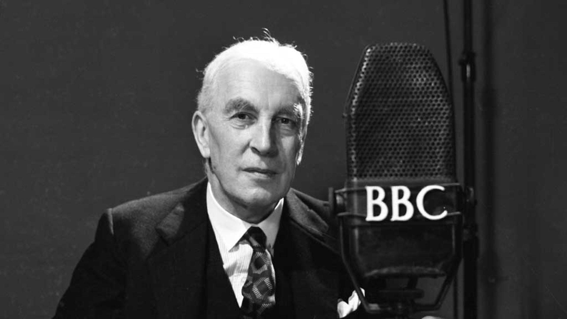 Арнольд Тойнби выступает по BBC. 1952