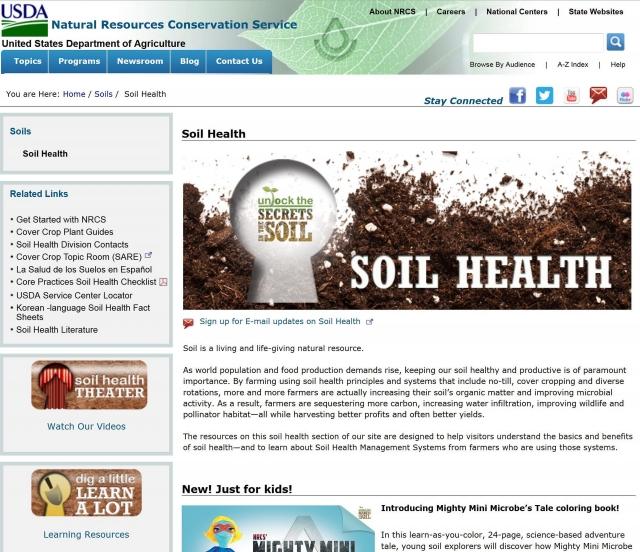 Здоровье почвы — условие выхода из почвенного кризиса в сельском хозяйстве