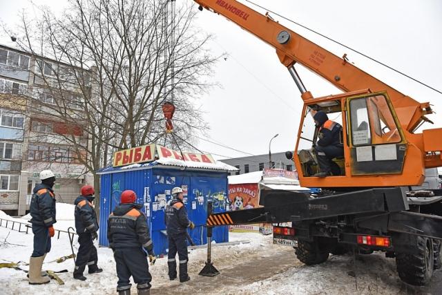 В Ярославле незаконные ларьки «приютили» ТСЖ и управдомы