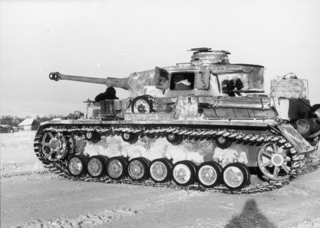Немецкий танк Pz-IV