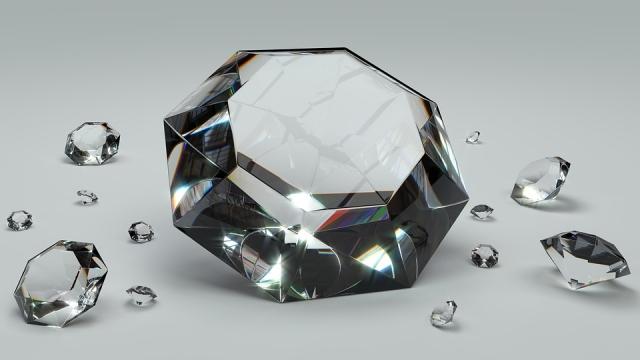 Крупные алмазы весом более 85 карат найдены в Якутии