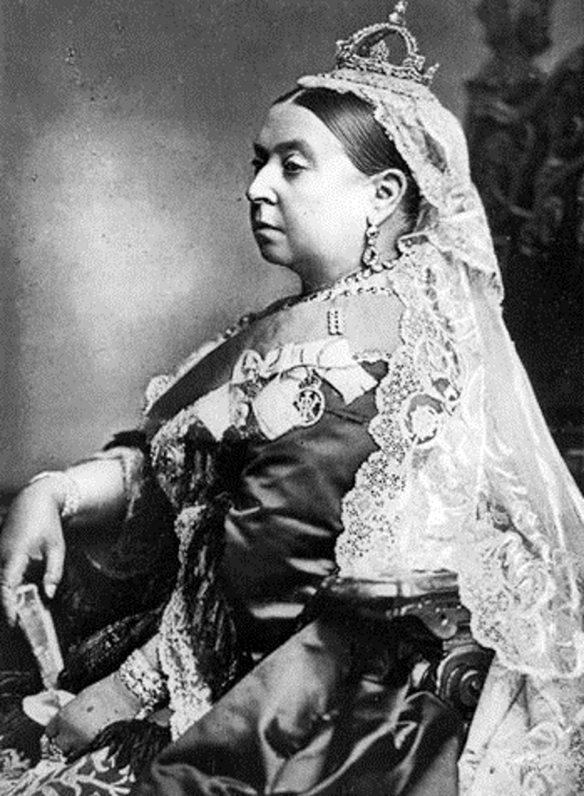 Королева Виктория. 1887