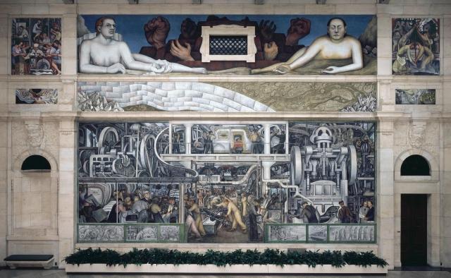Диего Ривера. Детройт. Южная стена. 1932