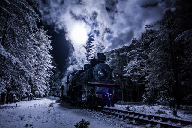 Поезд идёт по Дороге победы