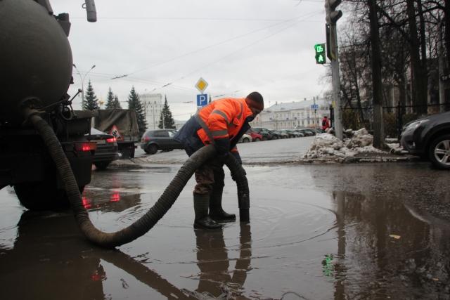 Ярославское правительство отказалось финансировать ливневую канализацию