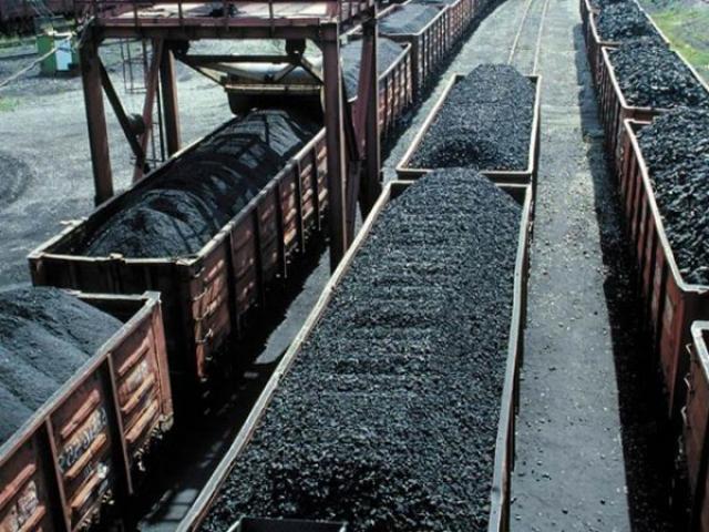 Вагон уголь