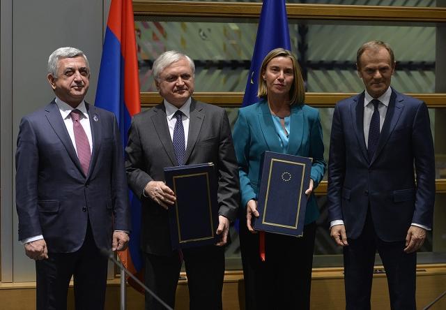 Республика Армения и Европейский союз заключили Соглашение о всеобъемлющем и расширенном партнёрстве