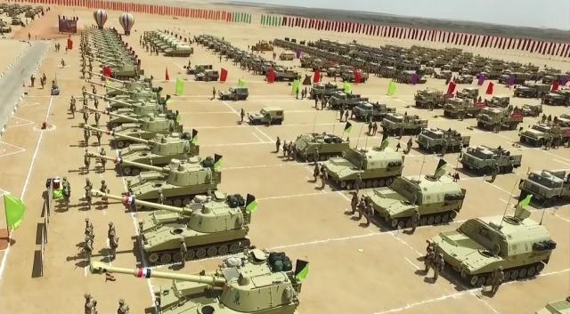 Современная египетская армия