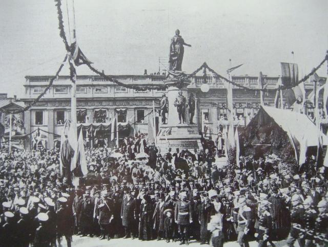 В Одессе суд оставил на месте памятник Екатерине II, основавшей город