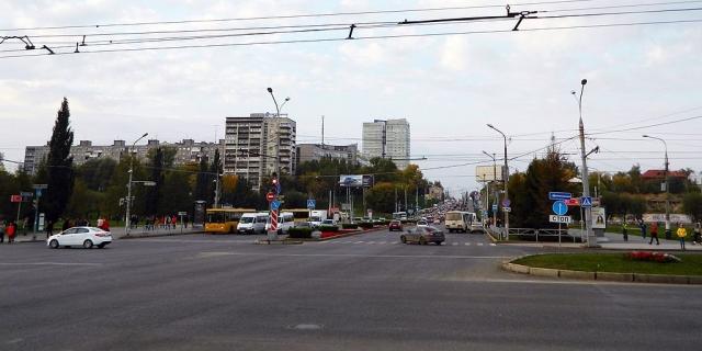 Перекресток в Перми
