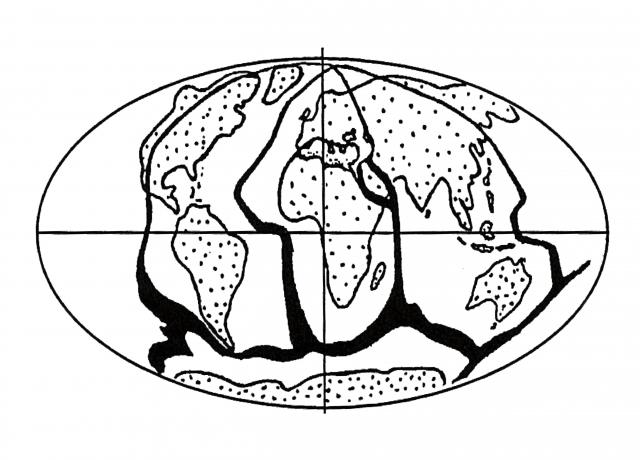 Рис.12. Главные зоны дегазации Земли (по В.Л. Сывороткину)