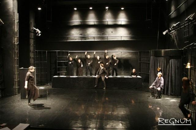 Репетиция спектакля «Стенограмма»