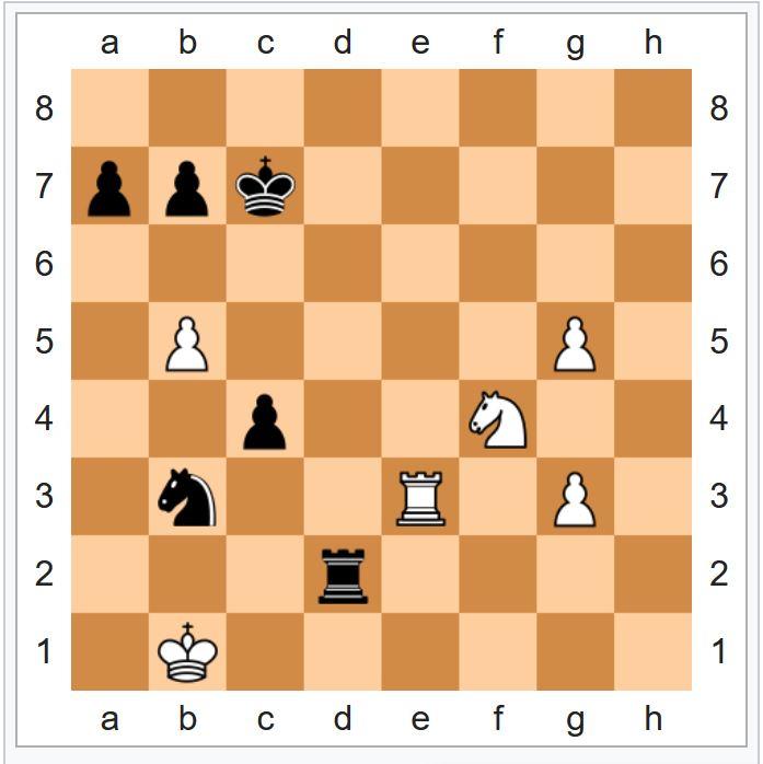 Каспаров — Deep Blue 5-я партия, 1997 год
