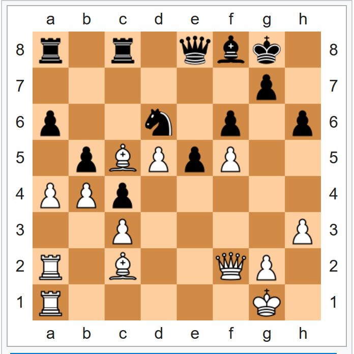 2-я партия матча «Дип блю» – Каспаров (1997)