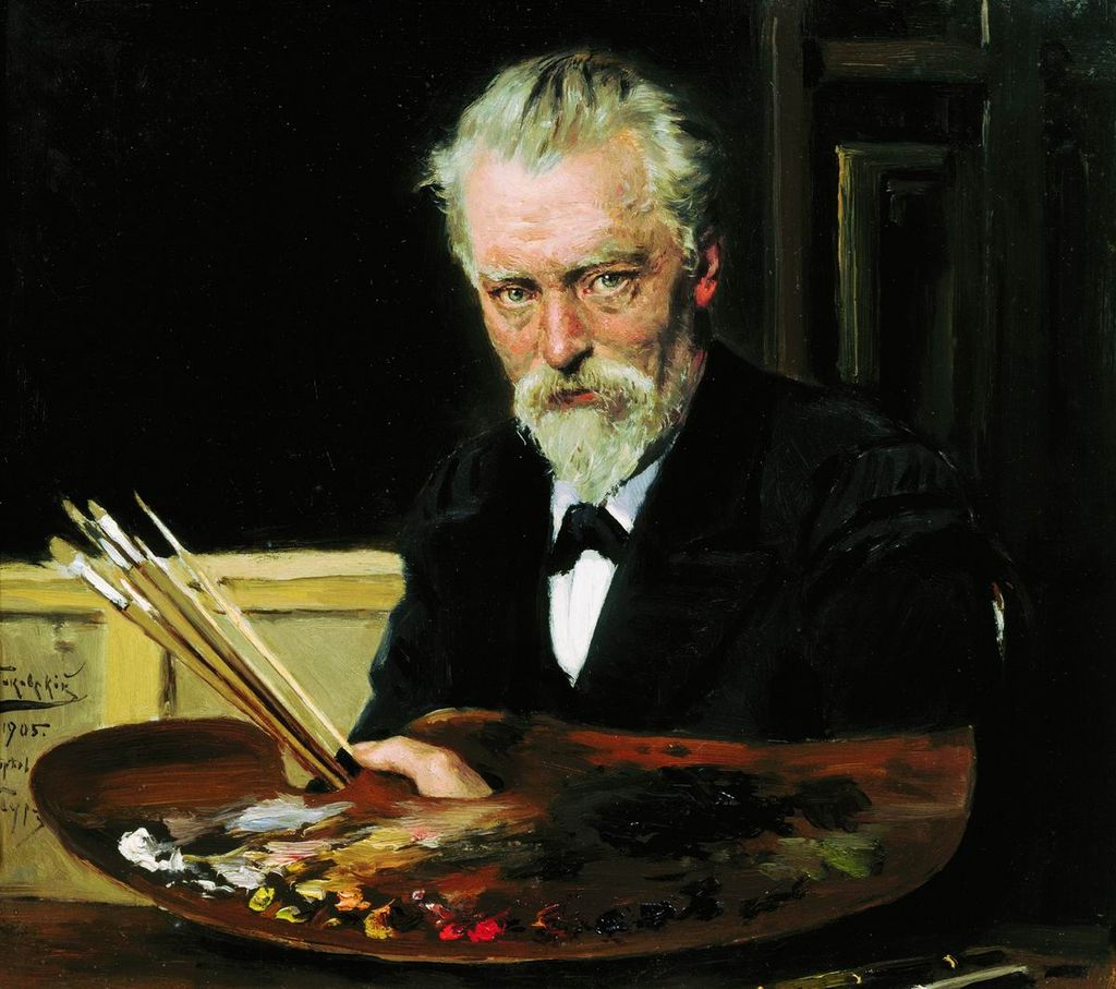 Владимир Маковский. Автопортрет. 1905