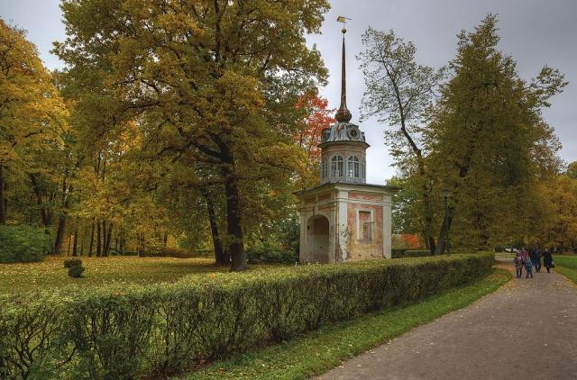 Въездные ворота потешной крепости Петерштадт. 1757