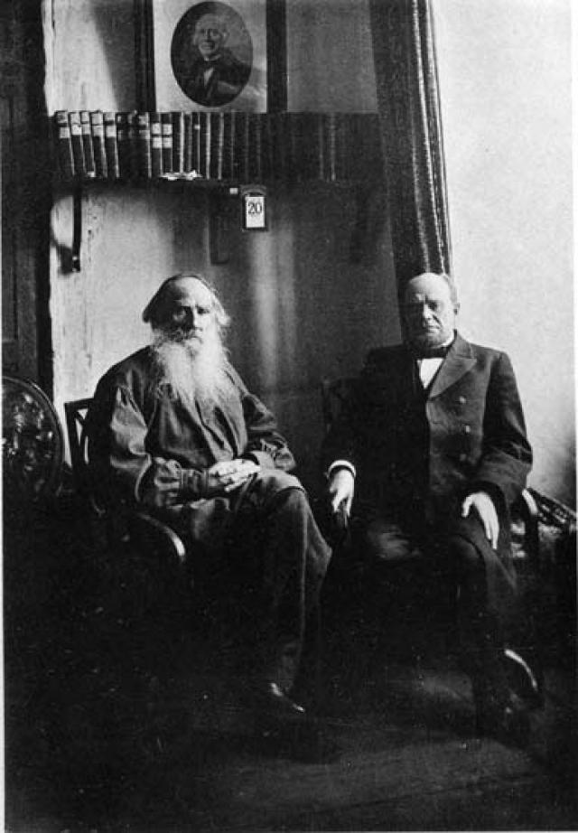 Анатолий Фёдорович Кони и Лев Николаевич Толстой