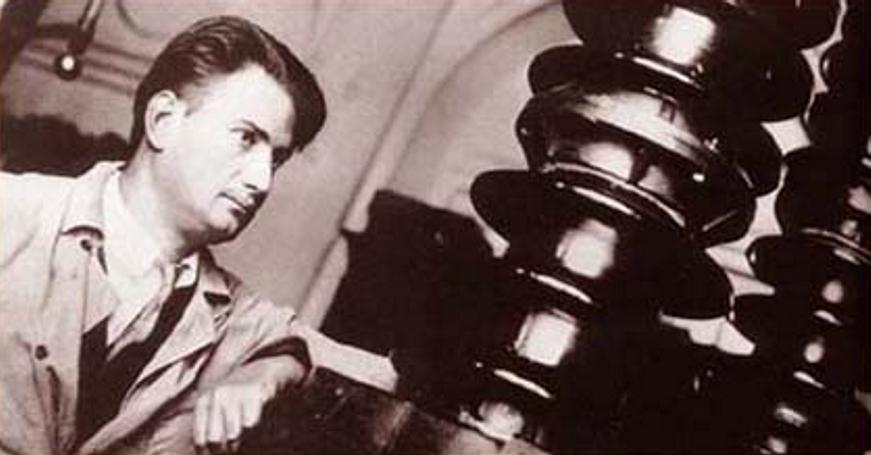 Игорь Васильевич Курчатов в Радиевом институте, ок. 1930 года