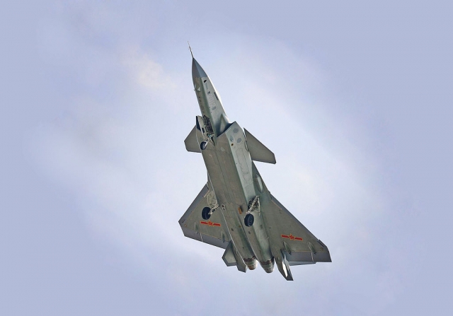В китайские ВВС начал поступать истребитель пятого поколения